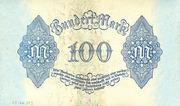 100 Mark (Reichsbanknote) – revers