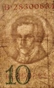10 Reichsmark -  avers