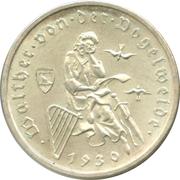 3 reichsmark (Von der Vogelweide) -  avers