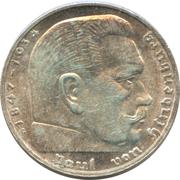 2 reichsmark (Paul von Hindenburg) -  revers