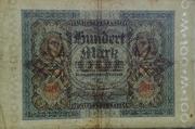 100 mark (Reichsbanknote) -  avers