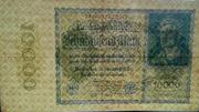 10000 mark (Reichsbanknote, petit format) -  avers