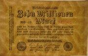 10,000,000 Mark (Reichsbanknote) -  avers