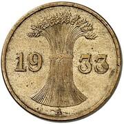 1 Reichspfennig (Pattern) – avers