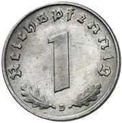 1 Reichspfennig (Pattern) – revers