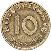 10 Reichspfennig (Allied Occupation - Pattern) – revers