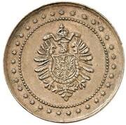 1 Pfennig - Wilhelm I (Pattern) – avers