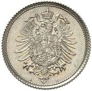 10 Pfennig - Wilhelm I (Pattern) – avers