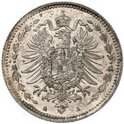 50 Pfennig - Wilhelm I (Pattern) – avers