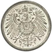 2 Pfennig - Wilhelm II (type 2 - small shield - Pattern) – avers