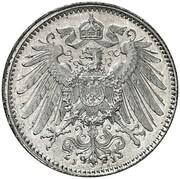 1 Mark - Wilhelm II (type 2 - small shield - Pattern) -  avers