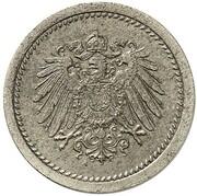 10 Pfennig - Wilhelm II (type 2 - small shield - Pattern) – avers