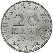 20 Mark (Pattern) – revers