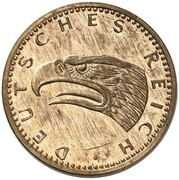 2 Pfennig (Pattern) – avers