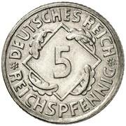 5 Reichspfennig (Pattern) -  avers