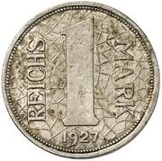 1 Reichsmark (Pattern) -  avers