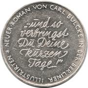 Jeton - Berliner Illustrirte Zeitung – revers