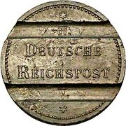 Jeton de téléphone - Deutsche Reichspost – avers