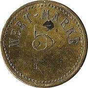 5 Pfennig (Wert-Marke) – avers