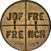 Propaganda token - Joffre / French – avers