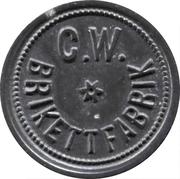 5 pfennig (C.W. Brikettfabrik) – avers