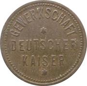 4 pfennig - Gewerkschaft Deutscher Kaiser (Hamborn) – avers