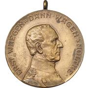 Medal - S.M.S. Moltke – avers