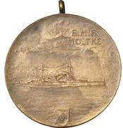 Medal - S.M.S. Moltke – revers