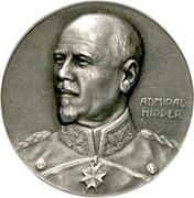 Admiral Franz Ritter von Hipper – avers
