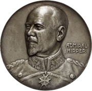 Medal - Admiral Franz Ritter von Hipper and his victory at Skagerrak – avers