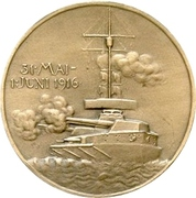 Medal - Admiral Franz Ritter von Hipper and his victory at Skagerrak – revers