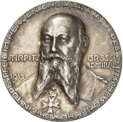Großadmiral Alfred von Tirpitz – avers