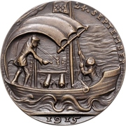 Medal - The sinking of 'U.41' by Q-ship 'Baralong' – revers