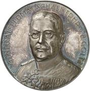 Colmar Freiherr von der Goltz – avers