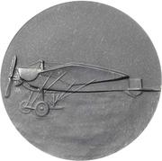 Medal - Death of flying ace Oswald Bölcke – revers