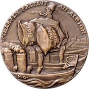 Medal - Postal robbery – revers