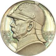 Medal - 100th anniversary of Otto von Bismarck – avers