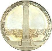 Medal - 100th anniversary of Otto von Bismarck – revers