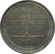 Medal - Hurra Germania, Britannia Rule the Waves – revers
