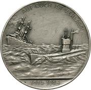 Medal - Grossadmiral von Tirpitz – revers
