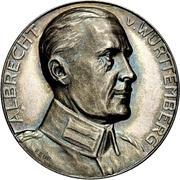 Albrecht von Württemberg – avers