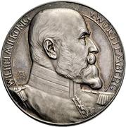 Médaille - Wilhelm II (25e anniversaire de règne) – avers