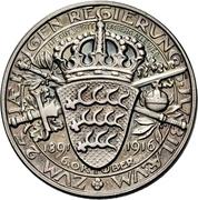 Médaille - Wilhelm II (25e anniversaire de règne) – revers