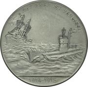 Médaille - Korvettenkapitän Nikolaus Graf zu Dohna-Schlodien – revers