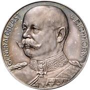 Médaille - Generaloberst von Eichhorn – avers