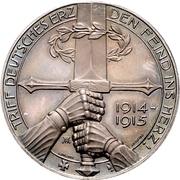 Médaille - Generaloberst von Eichhorn – revers