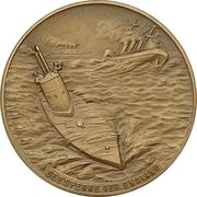 Médaille - WWI Kapitänleutnant Otto Eduard Weddigen – revers