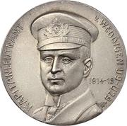 Medal - WWI Kapitänleutnant Otto Eduard Weddigen – avers