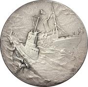 Medal - WWI Kapitänleutnant Otto Eduard Weddigen – revers