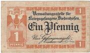 1 Pfennig (Diedenhofen PoW Camp)) – avers